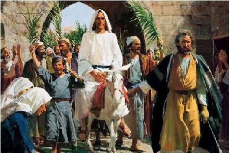 18-  A Entrada Triunfal de Yeshua