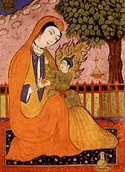 180px-Virgin_Mary_and_Jesus_(old_Persian_miniature)