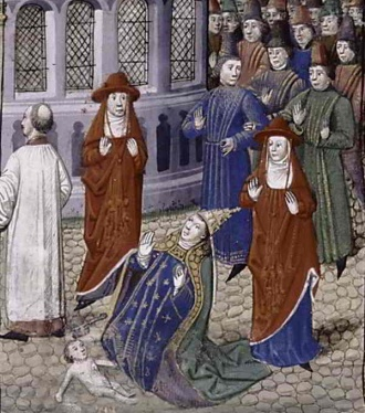 7445fa6fbd0f5155e7cab84988c8d66e--pope-joan-medieval-life